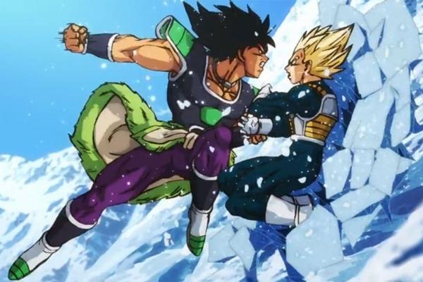 As cenas de batalha empolgam o público em 'Dragon Ball Super: Broly'  (Internet/Reprodução)