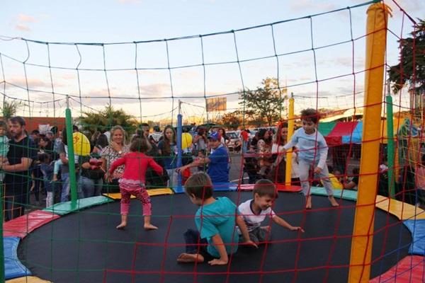 Última edição do evento agradou as crianças, que se esbaldaram nos brinquedos (Thiago Teofilo/Divulgação)