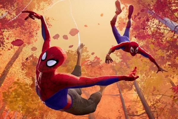 Um universo todo de Homens-Aranha é apresentado na animação (Reprodução/Internet)
