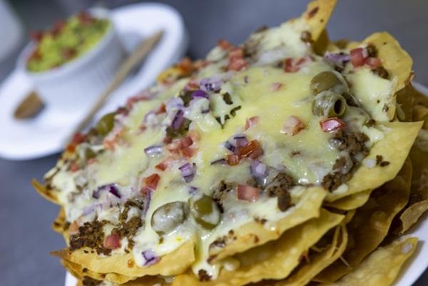 Os nachos, do restaurante A Toca, são ideais para compartilhar com toda a família (A Toca/Divulgacao)