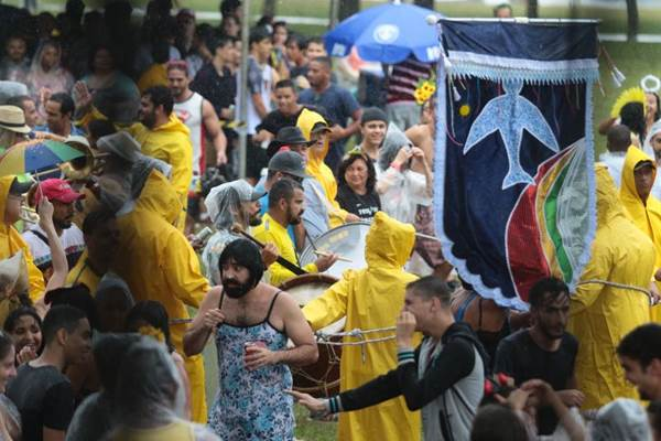 O bloco Suvaco da Asa faz parte do pré-carnaval de Brasília (Luis Nova/Esp. CB/D.A Press)