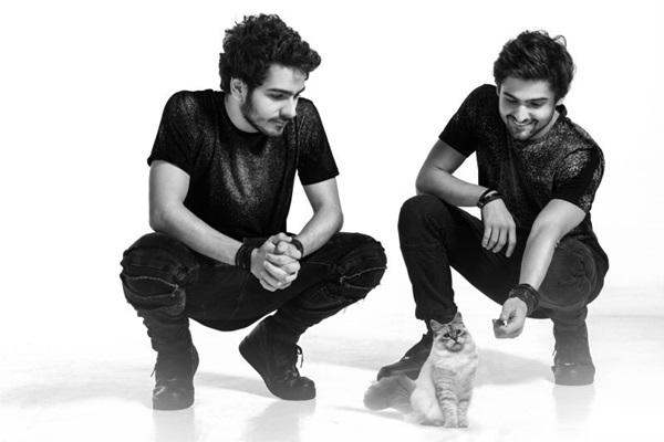 A dupla Cat Dealers promete tocar até o sol raiar (Destak/Divulgação)