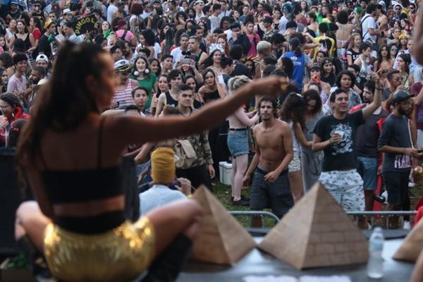 Egito antigo é tema da festa Tuthankasmona (Luis Nova/Esp. CB/D.A Press)