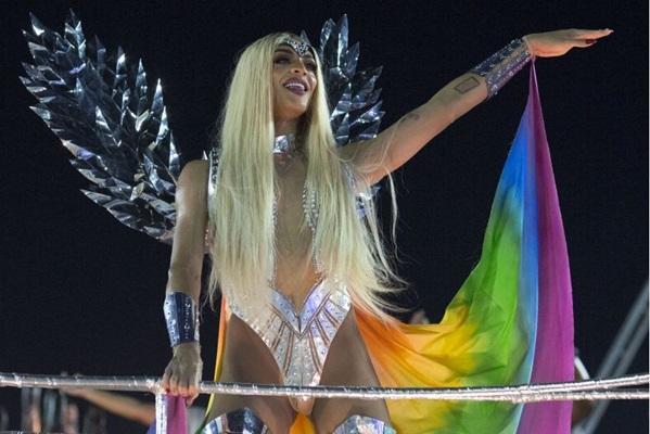 O bloco da Pabllo sairá pela segunda vez no carnaval brasiliense (AFP / Mauro PIMENTEL)