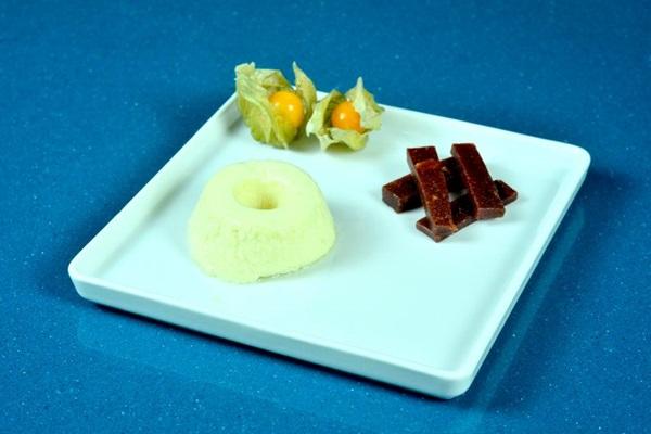 Mousse de queijo canastra com filetes de goiabada cascão artesanal do Bella e Ro (GentilMagalhaes/Divulgacao)