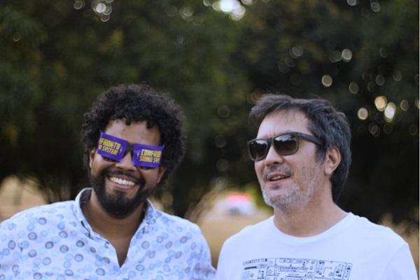 Rei Zula e El Roquer do coletivo Confronto Sound System (Braion Tudrey/Divulgação)
