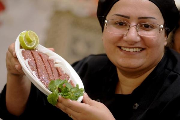 O kibe cru é um dos pratos mais tradicionais do Arak (Carlos Vieira/CB/D.A Press)