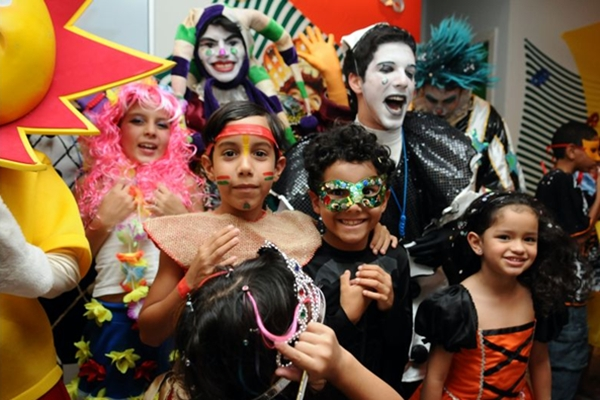 O carnaval infantil é tradição no Boulevard Shopping (Monique Renne/CB/D.A Press)