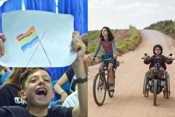 Os longas 'Eleições' e 'Sobre rodas' são produções brasileiras (Olhar Distribuição/Divulgação - Bella Tozini/Divulgação)