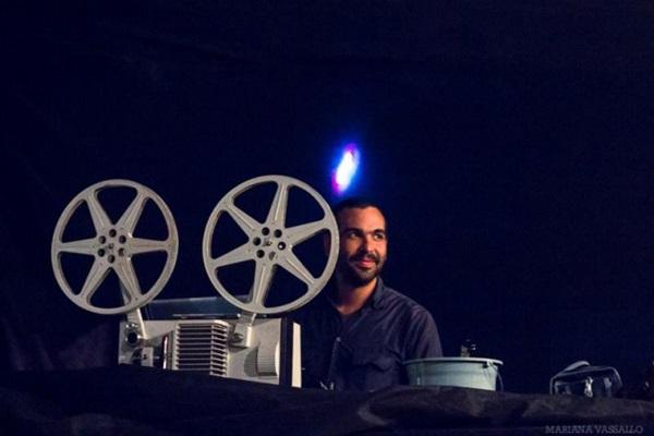 VJ Reyzek continua com as projeções no Cineme-se (Mariana Vassallo/Divulgação. )