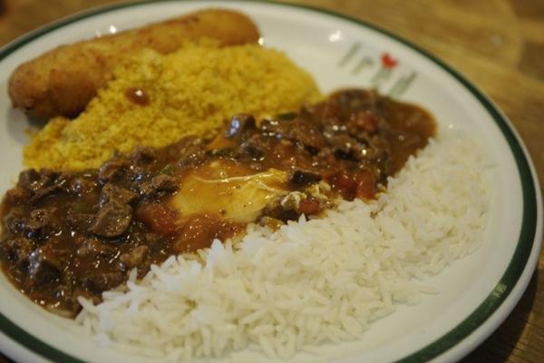 O prato do restaurante Fred é reconhecido na cidade (Bruno Peres/CB/D.A Press)