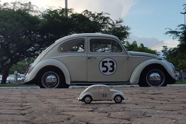 Carros e suas miniaturas estarão no estacionamento do CCBB (CCBB/Divulgação)