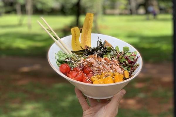 A infinidade de opções que o poke permite tornou o prato uma sensação no La Pacific Food (L'a Pacific Food/Divulgação)