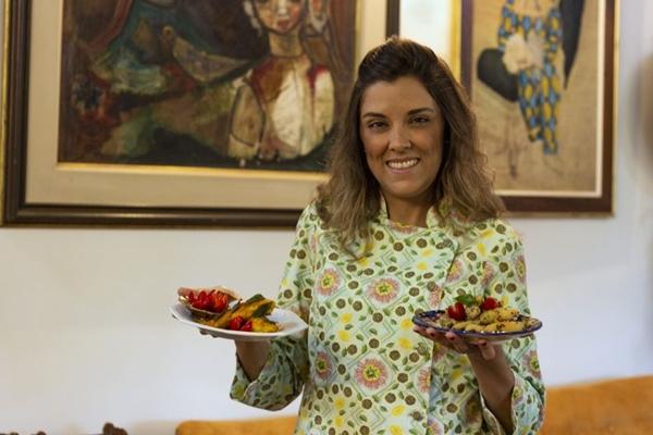 Tilápia na manteiga de sálvia e Tilápia empanada com gergelim e raspas de limão são as especialidades da Chef Catarina Melo (Vinicius Cardoso Vieira/CB/D.A Press)