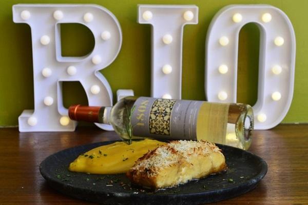 O Urca é um dos novos pratos do Rio Bistrô e Lounge   (Marcelo Ferreira/CB/D.A Press)