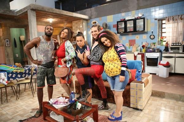 Personagens do 'Tô de graça' poderão ser vistos no Teatro da Unip (Gianne Carvalho/Divulgação)