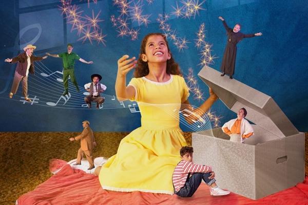 A caixa de Ayla leva um universo encantado para os palcos (André Sutton/Divulgação)