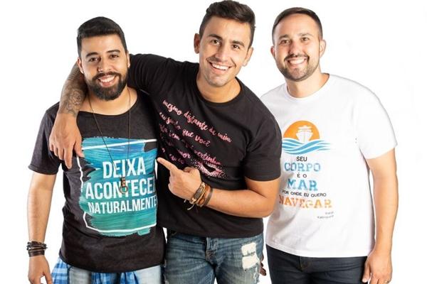 Banda Primeiro Beijo se apresenta no domingo, no restaurante Oliver (Um Nome Comunicação/Divulgação)