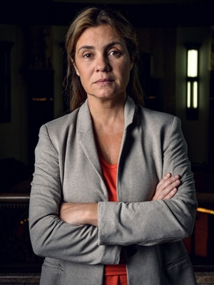 Adriana Esteves é uma das protagonistas de 'Assédio' (Globo/Ramón Vasconcelos)