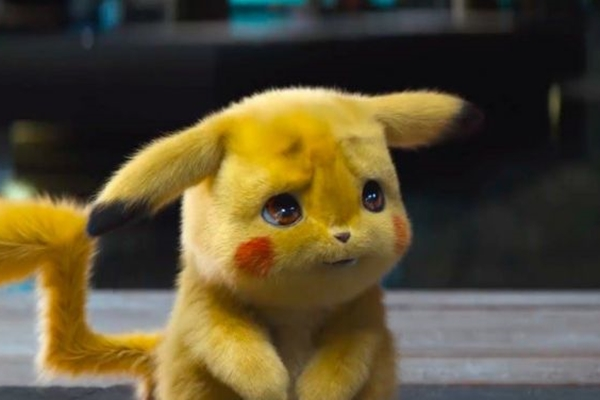 Pikachu investiga um desaparecimento no novo filme da franquia Pokémon  (Warner Bros./Divulgação)