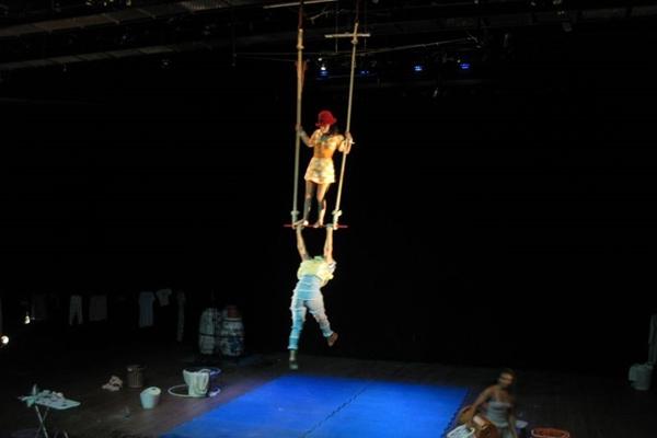 Inscrições para oficina de circo devem ser feitas até 17 de maio  (Ana Paula Lisboa/CB/D.A Press)