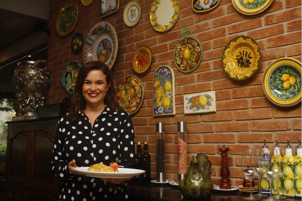 O menu executivo atende também os clientes que vão jantar no Limoncello (Ana Rayssa/CB/D.A Press)