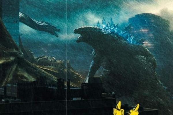 Em 'Godzilla 2: O rei dos monstros', a disputa entre criaturas pode dizimar a humanidade (Reprodução/Internet)