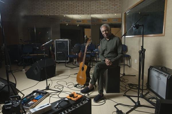 Gilberto Gil trará a turnê do disco OK OK OK à cidade em outubro (Gerard Giaume/Divulgação)
