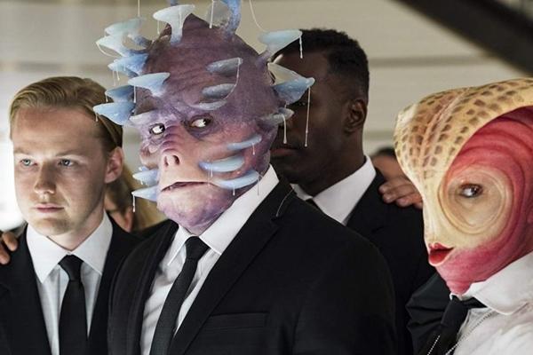 Agora, os agentes de MIB são interpretados por Chris Hemsworth e Tessa Thompson (Sony Pictures/Divulgação)