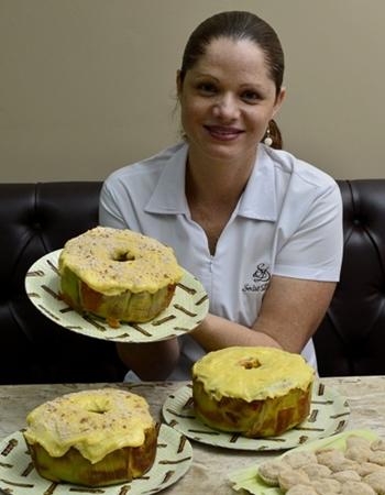 Um mix de pamonha e curau inspiram o bolo junino de milho (Marcelo Ferreira/CB/D.A Press)