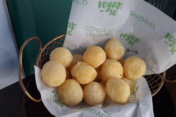 O Pão de Keijo da Vegan-se agrada o paladar do público (Geovana Melo/Esp.CB/D.A Press. Brasil. )