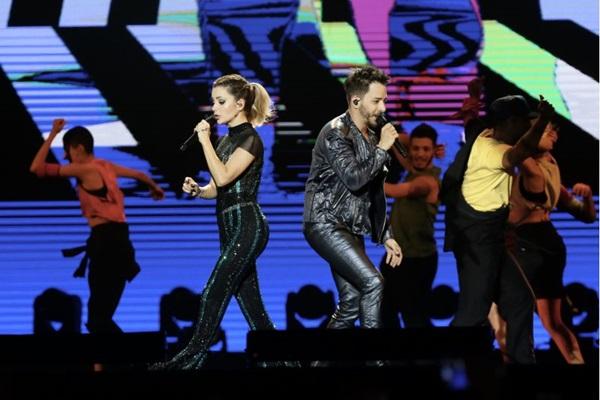Sandy e Junior fazem um passeio pelos 30 anos de carreira em apresentação (Manuela Scarpa/Divulgação)