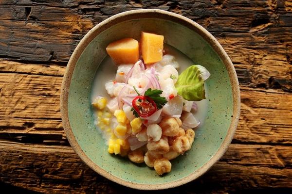 Ceviche é uma ótima opção para os amantes de frutos do mar (Fabricio Rodrigues/Divulgação)