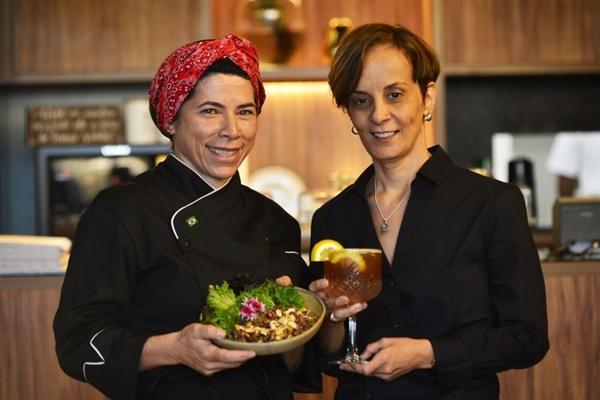 A chef Mirian Brito ajudou Enilce Versani a montar o Espaço com Cavaná - Café e bistrô (Marcelo Ferreira/CB/D.A Press)