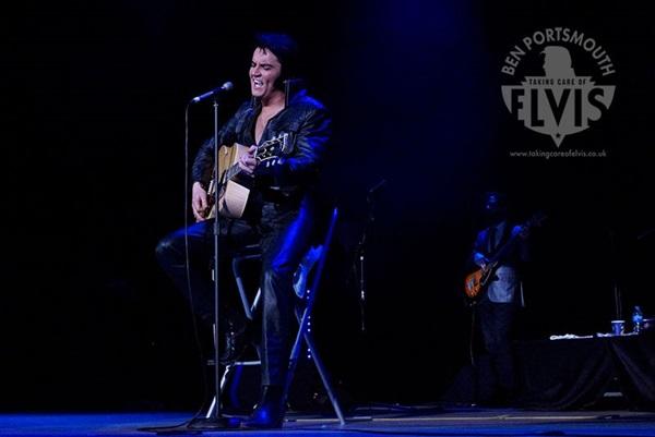Ben Portsmouth chega a Brasília com o show The King is back  ( Alison Povey/Divulgação)