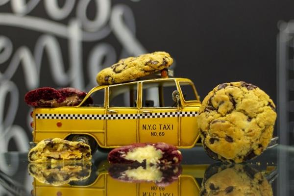 Gostinho americano no Brasil, os produtos da American Cookies fazem sucesso na cidade (Vinicius Cardoso/Esp. CB/D.A Press)