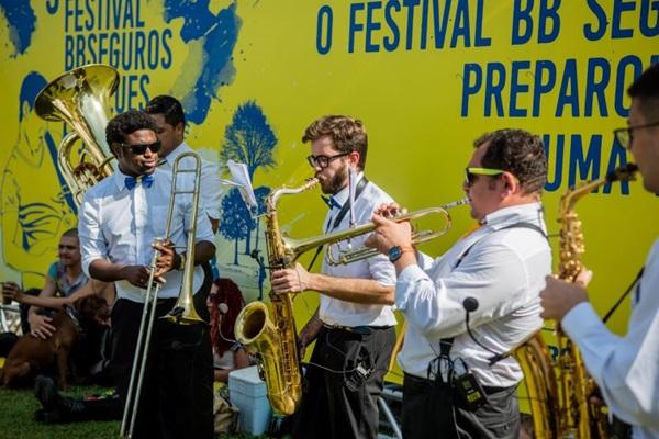 Festival BB Seguros Brass Band tem um repertório com clássicos do gênero (Vinicius Grosbelli/Divulgacao)