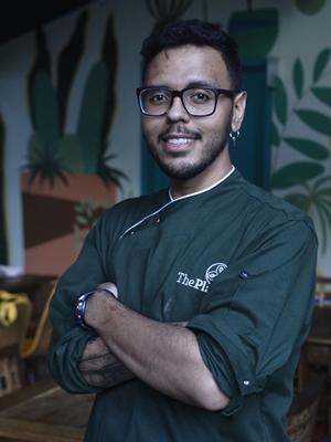 No The Plant, o chef Vitor Luíz não usa fritura na cozinha (Minervino Junior/CB/D.A Press)