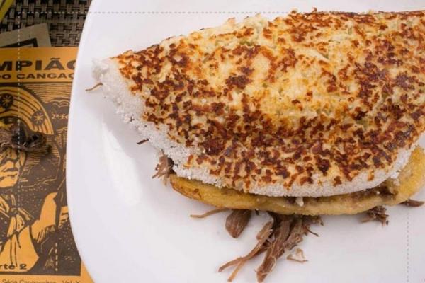A tapioca Mainha faz sucesso entre os clientes da tapiocaria (Arquivo Pessoal)