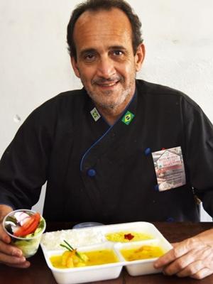 As comidas oferecidas no Refeições DiCasa atendem o dia a dia com variedade e qualidade (Ed Alves/CB/D.A Press)