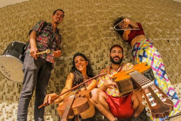 Grupo Forró do B se apresenta em festival multiartístico  (Webert da Cruz/Divulgação)