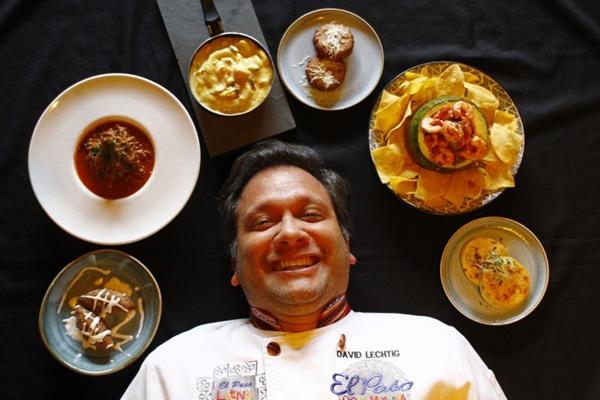 David Lechtig é um apaixonado pela gastronomia latina e mostra esse amor no menu do El Paso Latino (Ana Rayssa/CB/D.A Press)