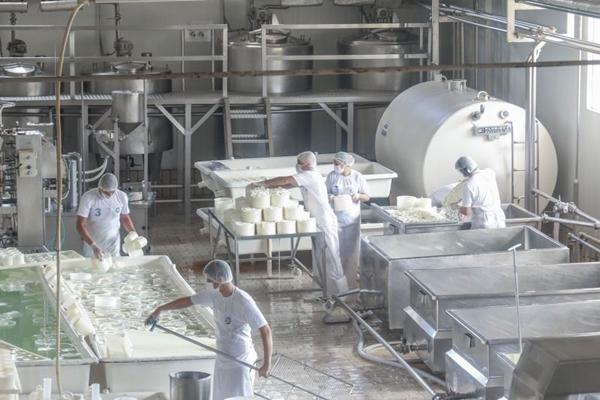 Com produção de 30 mil litros de leite por dia, Palma se destaca no mercado de laticínios no Centro-Oeste (Uirá Godoy/Divulgação)