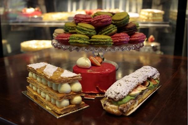 L'amour du pain proporciona um café da manhã, em família e com muito lazer (Ana Rayssa/Esp. CB/D.A Press)
