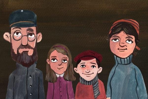 Documentário 'Tsé' utiliza recursos animados para contar a história de uma mulher judia (Reproducao)