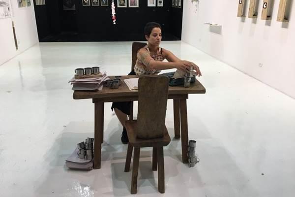 A arte de Janaína Moraes está em cartaz na Galeria Casa, no Casa Park (Paula Carrubba/Divulgação)