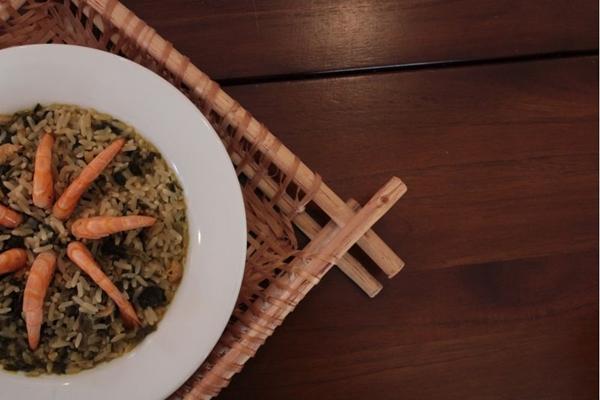 O arroz paraense tem semelhanças com um risoto (Marilia Lima/CB/D.A Press)