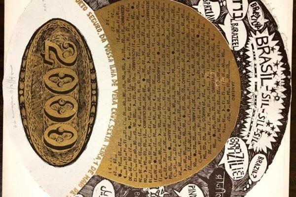 O trabalho da gravadora mineira Stella Maris é um dos destaques da exposição 'Te faço nascer livre'  (Reprodução)
