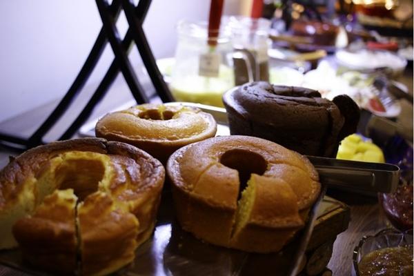 As comidas oferecidas no chá da tarde são produzidas no local (Vinicius Cardoso Vieira/Esp. CB/D.A Press)