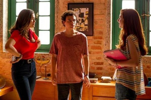 Duda Matte, Marcus Bessa e Maísa Silva se destacam na comédia juvenil 'Ela disse, ele disse'  ( Imagem Filmes/Divulgacao)
